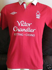 Nottingham Forest Home Shirt - 2011/12 - Small Boys - McGugan 8 on back
