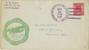 1928 FDC Valley Forge SC# 645 cncl Cleveland Philatelic Sta green Cachet CV50