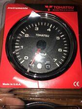NEW Chrome Bezel Tacho Rev Counter Gauge for Tohatsu Outboard 3GF-72647-1