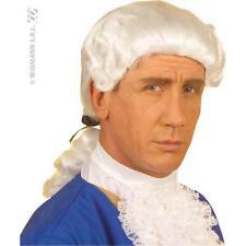 Perruque Blanche MARQUIS Déguisement Adulte Homme Costume Noble Roi Médiéval