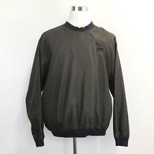 BOBCAT Mens Size L Golf Windbreaker Pullover V Neck by CYRK C3 Clothing Size L