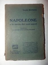 Hopkins: NAPOLEONE e storia dei suoi amori, Aquila Vecchioni, Spaventa Filippi