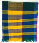 "Hand woven Colorful Multicolor Scarf Ethiopia - 19"" x 84"""