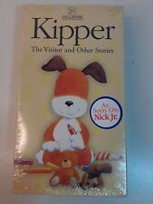 KIPPER THE VISITOR AND OTHER STORIES (1999, VHS) Hallmark Animated,New Sealed A9