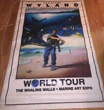 Wyland World Tour- The Whaling Walls- Marine Art Expo Banner Poster Display