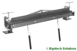 Sealey TS01 Vice Bench Mounted Sheet Rod Metal Folder Bender Former 700mm