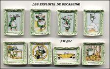 Fèves BÉCASSINE TABLEAUX  LES EXPLOITS  BD128