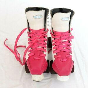 Riedell Sure Grip Women's 7.5 White Riedell Roller Skates Super X 5B Model 121