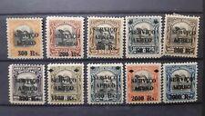 BRASIL . Lote de sellos antiguos de correo aéreo.