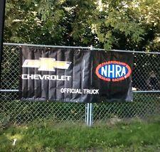 NHRA GM Chevrolet Performance Funny Car Banner App 8' X 3.5'