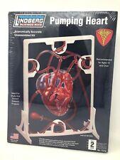 Lindberg Science Kits Project Pumping Heart Model Kit NEW SEALED No 71316