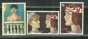 SAN MARINO 872-74 MNH INTERNATIONAL YEAR OF THE WOMAN