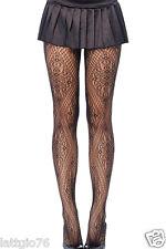 Collant calze fantasia geometrica intimo donna lingerie rete ricamato DS79513