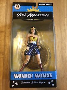 DC DIRECT WONDER WOMAN FIRST APPEARANCE JSA 2004 COLLECTOR ACTION FIGURE NEW