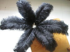 Pretty 10-100 a natural ostrich feathers 6-22 inches / 15-55cm Free Shipping