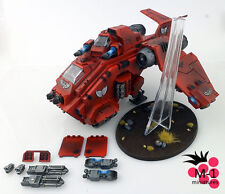 Warhammer 40k Blood Angels Stormraven Magnetized M-1 pro-painted