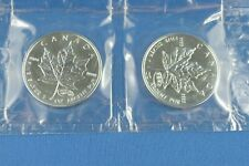 2 x  1 Oz Pure Silver - 2000  -  Fireworks Privy - Coins From Canada