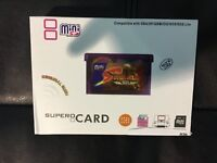 Supercard Flash Card Mini SD Card Adapter For GBA GBASP GBM IDS NDS NDSL Z1J6