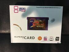 Supercard Flash Card Mini SD Card Adapter For GBA GBASP GBM IDS NDS NDSL Z1J6