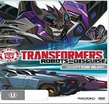 PRE ORDER: TRANSFORMERS :ROBOTS IN DISGUISE DECEPTION ISLAN- DVD - UK Compatible