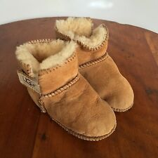 UGG Australia Infant Toddler Erin Shearling Boots, F3006F, Size Medium