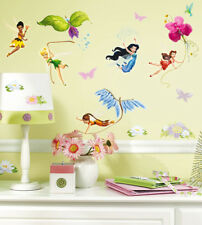 30 Wandsticker Wandtattoo Disney Fairies Tinkerbell Kinderzimmer Mädchen