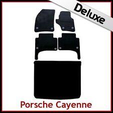 PORSCHE Cayenne 2003... 2009 su misura LUSSO 1300g auto e le stuoie di avvio (ROUND clip)