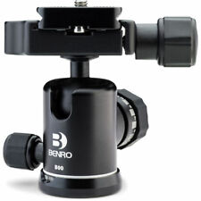 Benro B00 Triple Action Ball Head with PU50 QR plate, NoFees! NEW! EU Seller!