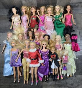Mattel Barbie Disney Similar Dolls Vintage 90s Contemporary Dolls Mixed HUGE LOT