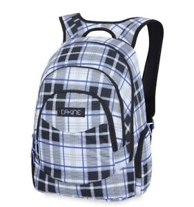 "Dakine PROM 25L Whitley Plaid 14"" Laptop Sleeve Organizer Pockets Backpack"
