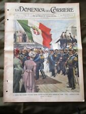 La Domenica del Corriere 31 Marzo 1901 Nuova nave Puglia -Ophir- Settimana Santa