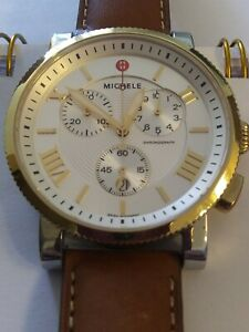 Michele Watch Chronograph sport MW01K00C9018 42mm