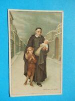 IMAGE PIEUSE HOLY CARD   SAINT VINCENT DE PAUL ENFANTS