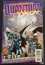 Quantum and Woody #1 NM- Signed Christopher Priest Acclaim Valiant 1997 1st App
