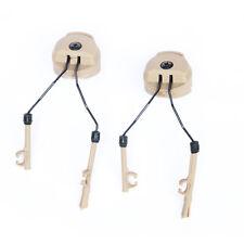 pelton ComtacI/II ARC Adapter/Tactical Helmet Rail Suspension Headset Support DE