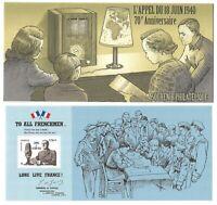 Timbres Bloc Souvenir 2010 N°48 - 70ème Anniversaire de l'Appel du 18 Juin 1940