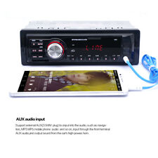 Car Radio Audio MP3 Player Stereo Receiver FM 12V SD/USB/AUX Single DIN In-Dash