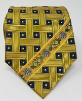 Cravatta Gianni Versace 100% pura seta tie silk original made in italy handmade
