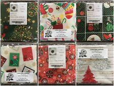 CHRISTMAS NAPKINS Set of 2 100% COTTON 45cm x 45cm