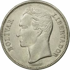[#442542] Munten, Venezuela, Bolivar, 1967, British Royal Mint, ZF, Nickel