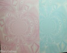 2 x A4 Vortex Backing Paper in Pink & Blue 120gsm NEW
