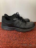 New Balance Men's US 12 D All Black Walking Sneaker Shoes