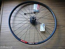 "26"" Front Mountain Bike Wheel DT Swiss 465D Rim Shimano M525 Hub Disc Brake QR"