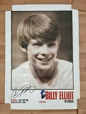 More details for rare billy elliot the musical special edition hand signed colin bates poster