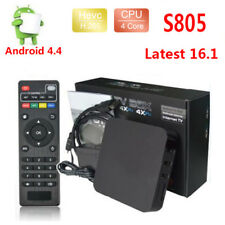 Smart TV BOX 1080P HDMI 3D 64-bit  Android4.4 S805 Media Player 4K 1+8GB H.265