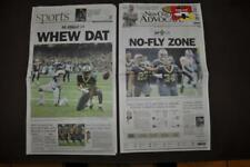 The New Orleans Advocate Newspaper 1/14/2019 New Orleans Saints NO-FLY ZONE