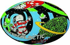 Gilbert Supporters Rugby Ball Size 5 Space Wham Intergalatic Rugby BRAND NEW