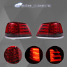 Pair For Toyota Landcruiser 200 Series 2008-2011 Pair LED Tail Light Red Smoked