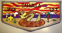 CAHUILLA OA LODGE 127 CALIFORNIA INLAND EMPIRE COUNCIL CA SCOUT PATCH VIGIL FLAP
