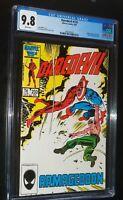 DAREDEVIL #233 1986 Marvel Comics CGC 9.8 NM/MT WHITE PAGES